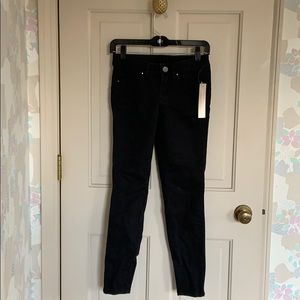NWT Cache Skinny Jeans Size 0 Black